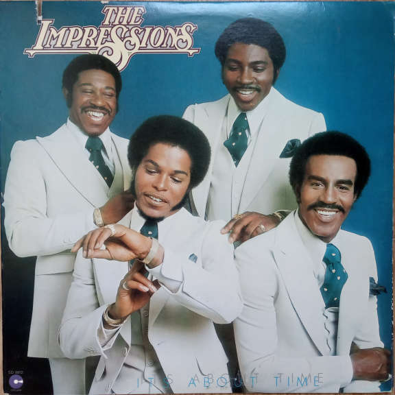 The Impressions It's About Time  LP 0