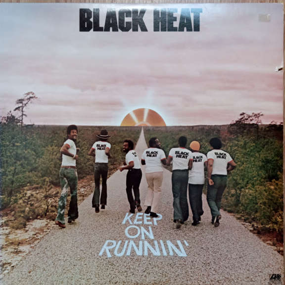 Black Heat Keep On Runnin' LP 0