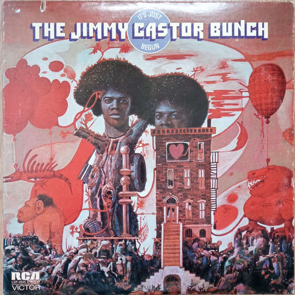 The Jimmy Castor Bunch It's Just Begun LP 0