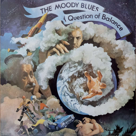 The Moody Blues A Question Of Balance  LP 0