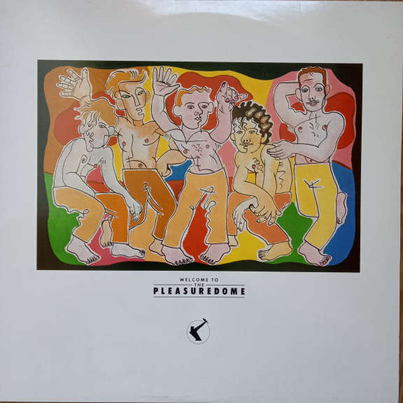 Frankie Goes To Hollywood Welcome To The Pleasuredome LP 0