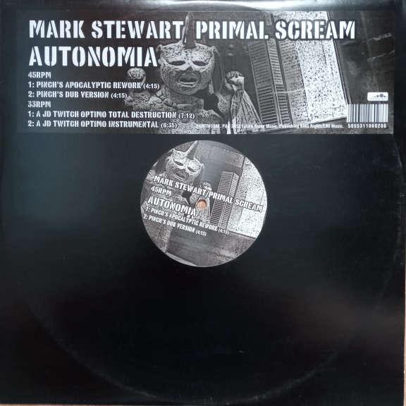 Mark Stewart / Primal Scream Autonomia LP 0
