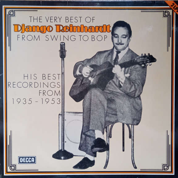 Django Reinhardt The Very Best Of - From Swing To Bop (His Best Recordings From 1935-1953) LP 0
