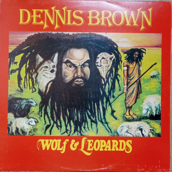 Dennis Brown Wolf & Leopards LP 0