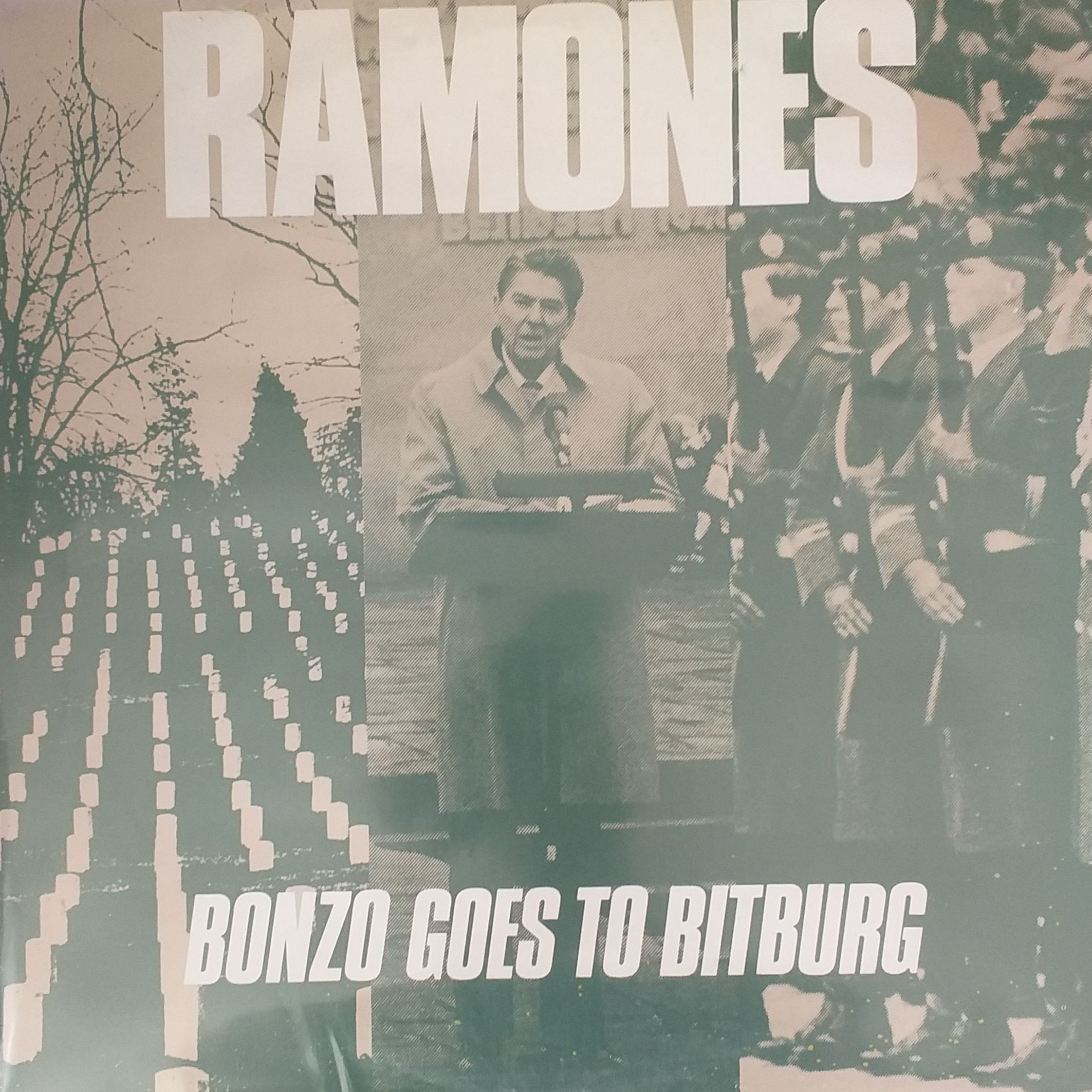 Ramones Bonzo goes to Bitburg LP undefined