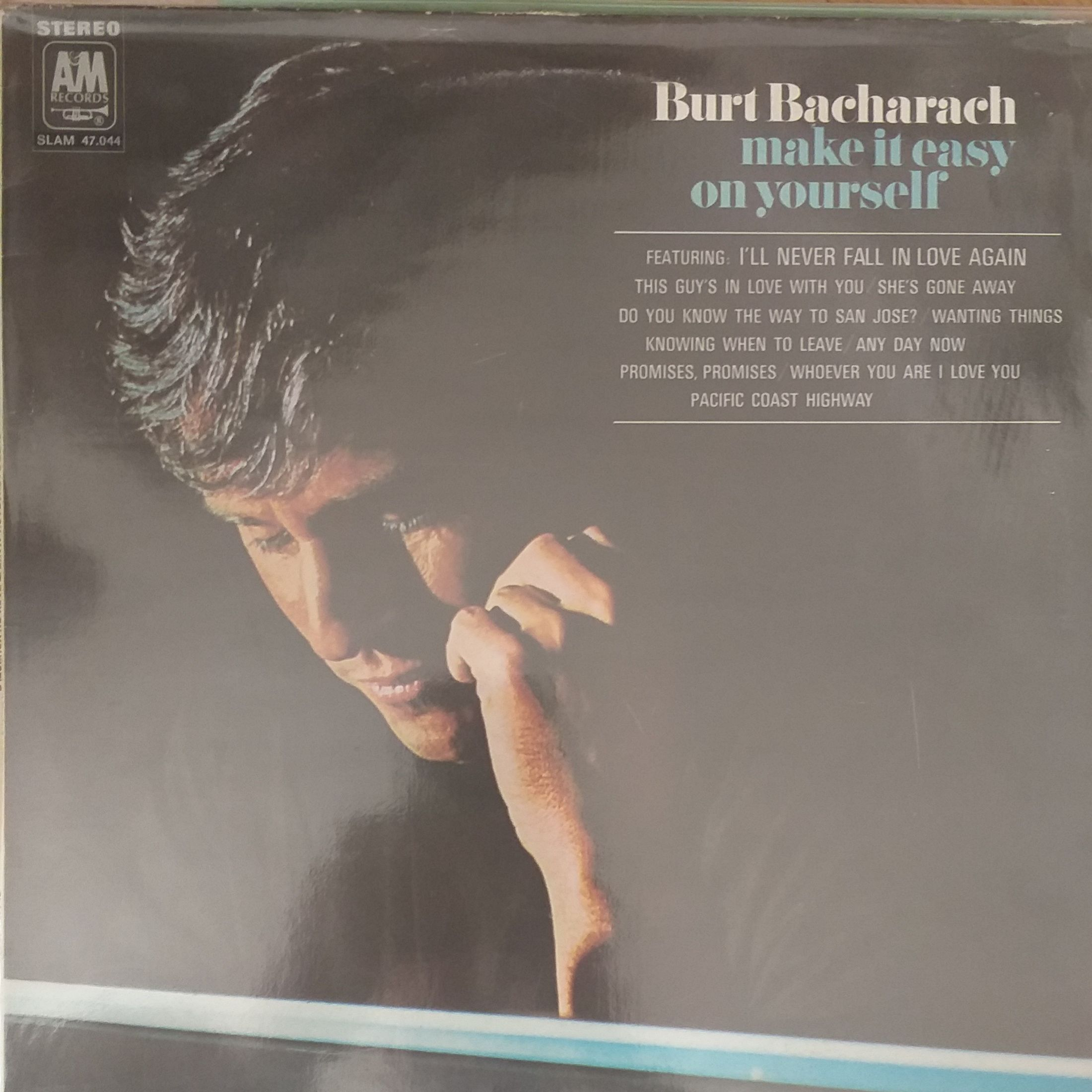 Burt Bacharach Make it easy on yourself LP undefined