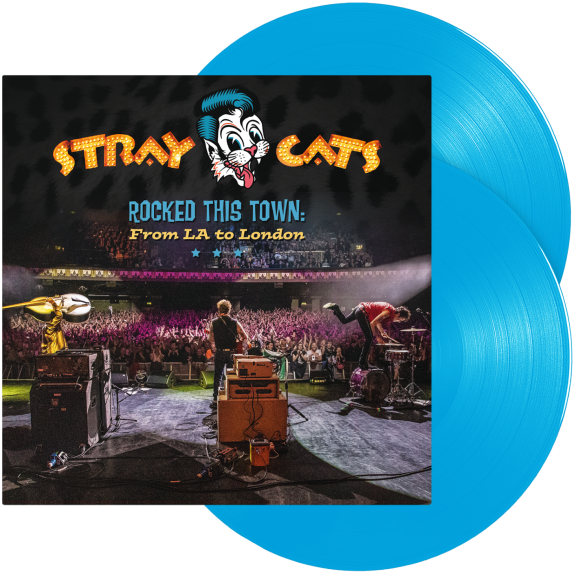 Stray Cats Rocked This Town: From LA To London (Coloured vinyl) LP 2020