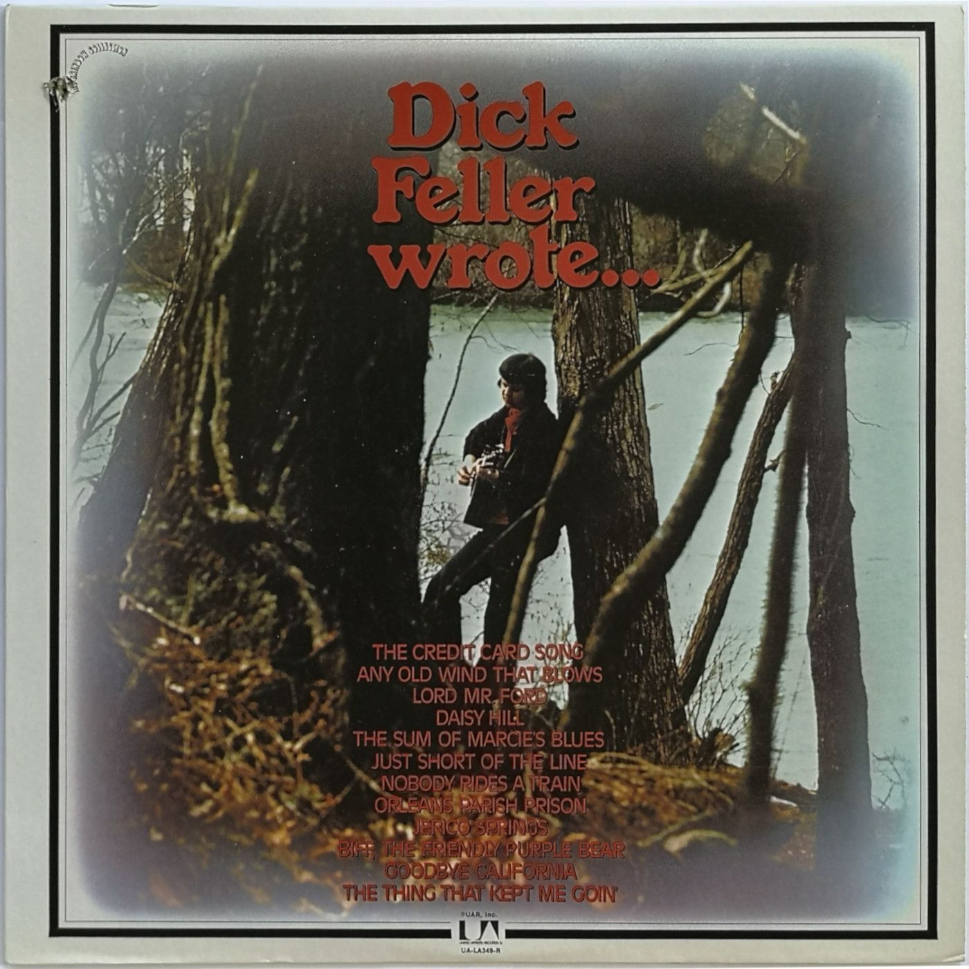 Dick Feller Dick Feller Wrote... LP undefined