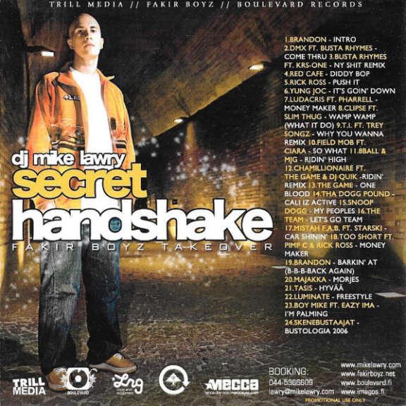 DJ Mike Lawry SSecret Handshake / Fakir Boyz Takeover Oheistarvikkeet 0
