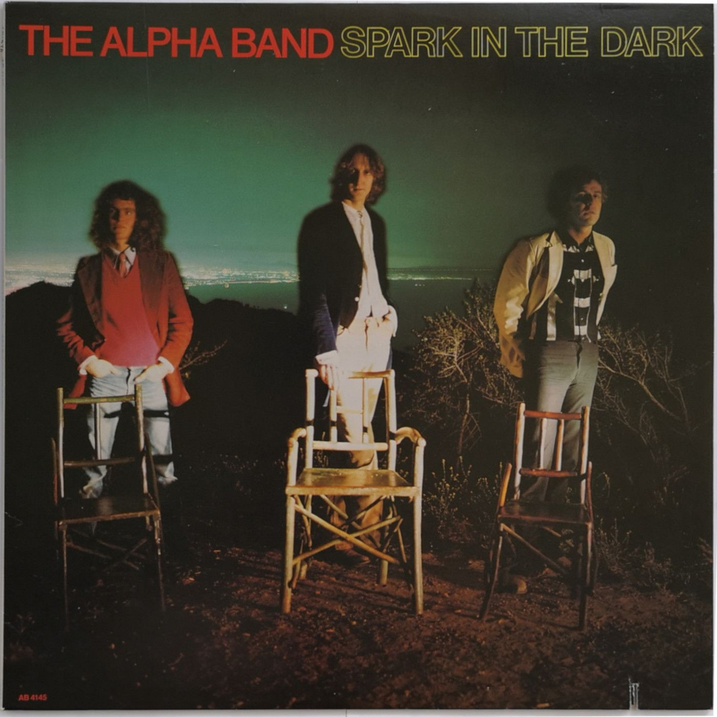 The Alpha Band Spark In The Dark LP undefined
