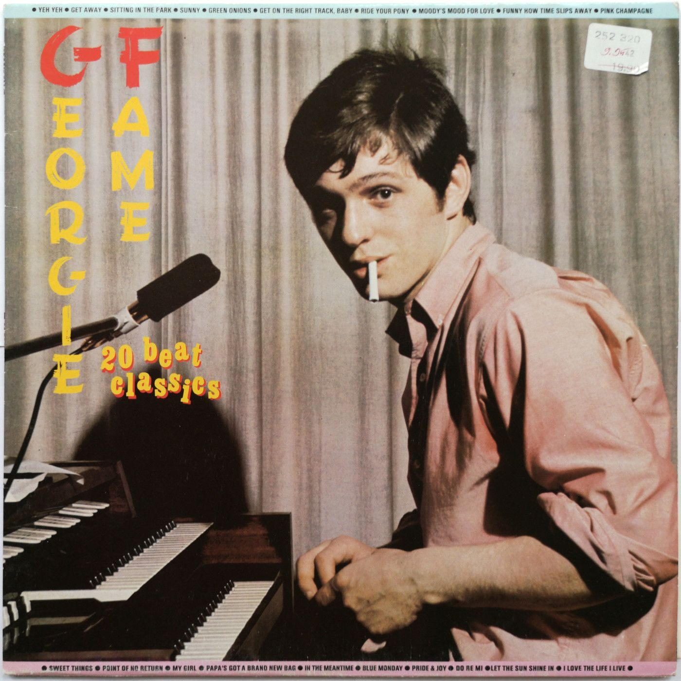 Georgie Fame 20 Beat Classics LP undefined