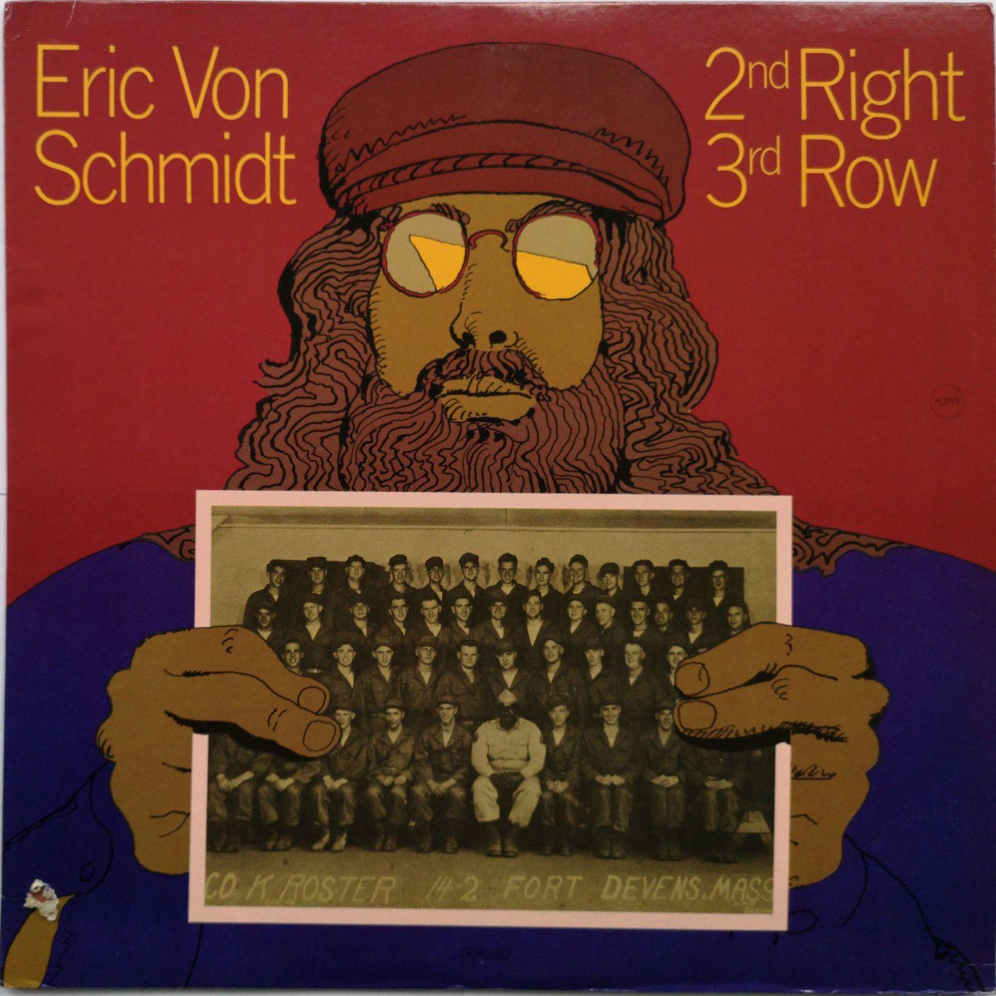 Eric Von Schmidt 2nd Right 3rd Row LP undefined