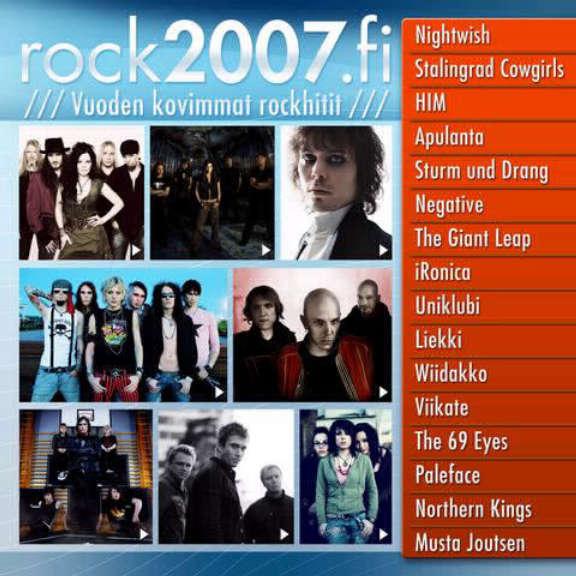 Various Rock2007.fi Oheistarvikkeet 0