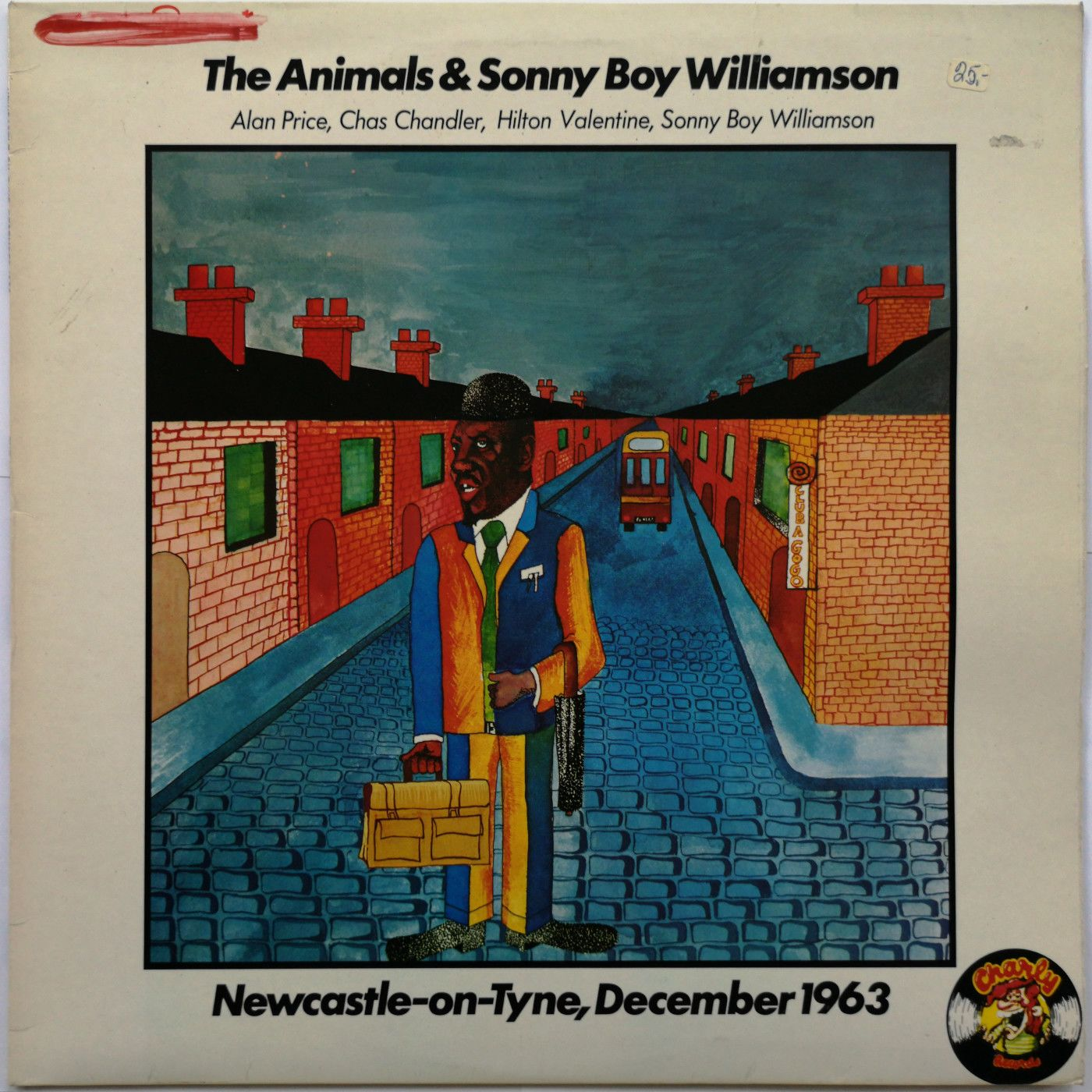 The Animals & Sonny Boy Williamson Newcastle-on-Tyne, December 1963 LP undefined