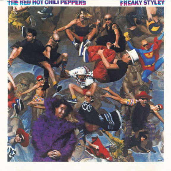 The Red Hot Chili Peppers Freaky Styley Oheistarvikkeet 0