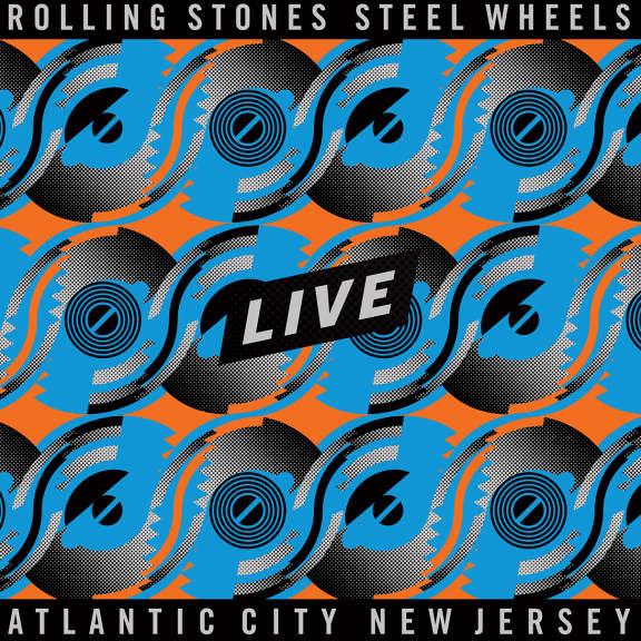 The Rolling Stones Steel Wheels (Black) LP 2020