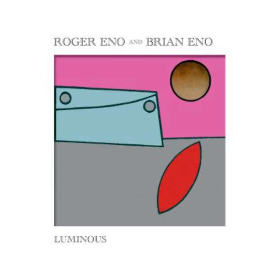 Roger Eno & Brian Eno Luminous (black) LP 2020