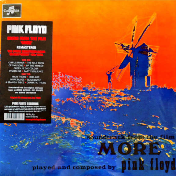 Pink Floyd Soundtrack from the Film More LP 2016