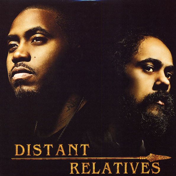 Nas & Damian Marley Distant Relatives 2LP [1ST PRESS] (UUSI LP) LP undefined