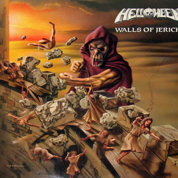 Helloween Walls Of Jericho LP 0