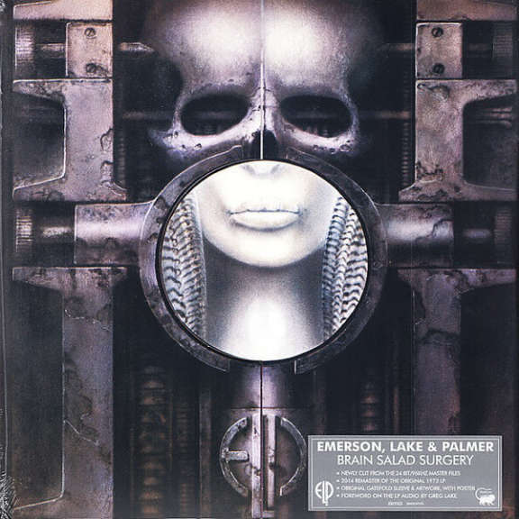 Emerson, Lake & Palmer Brain Salad Surgery LP 0