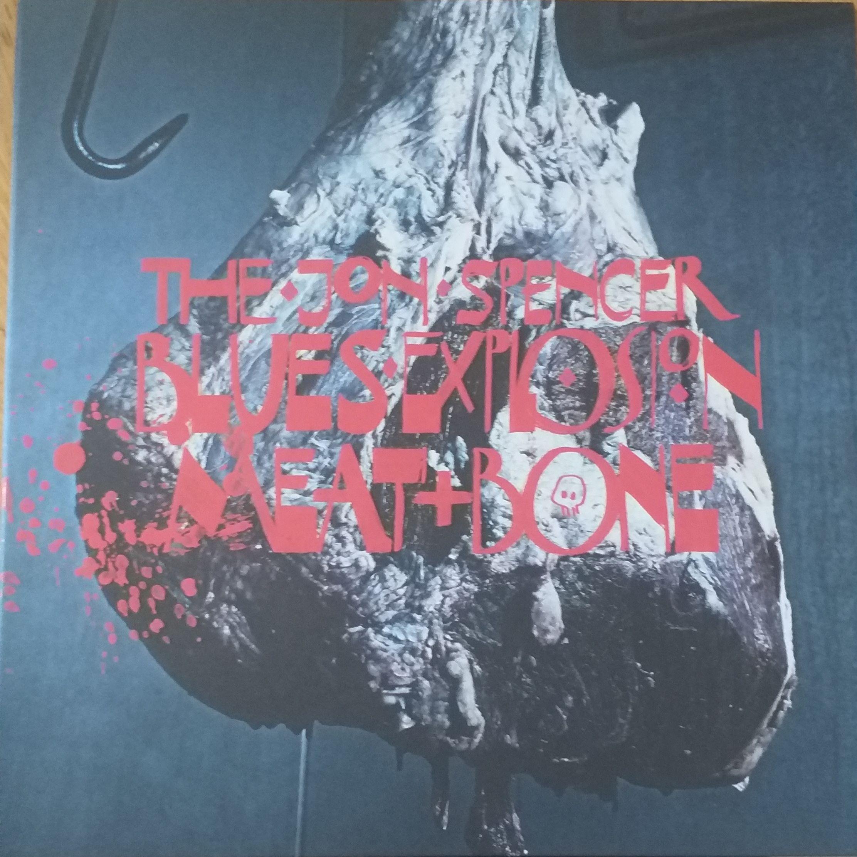 The Jon Spencer blues explosion Meat + bone LP undefined