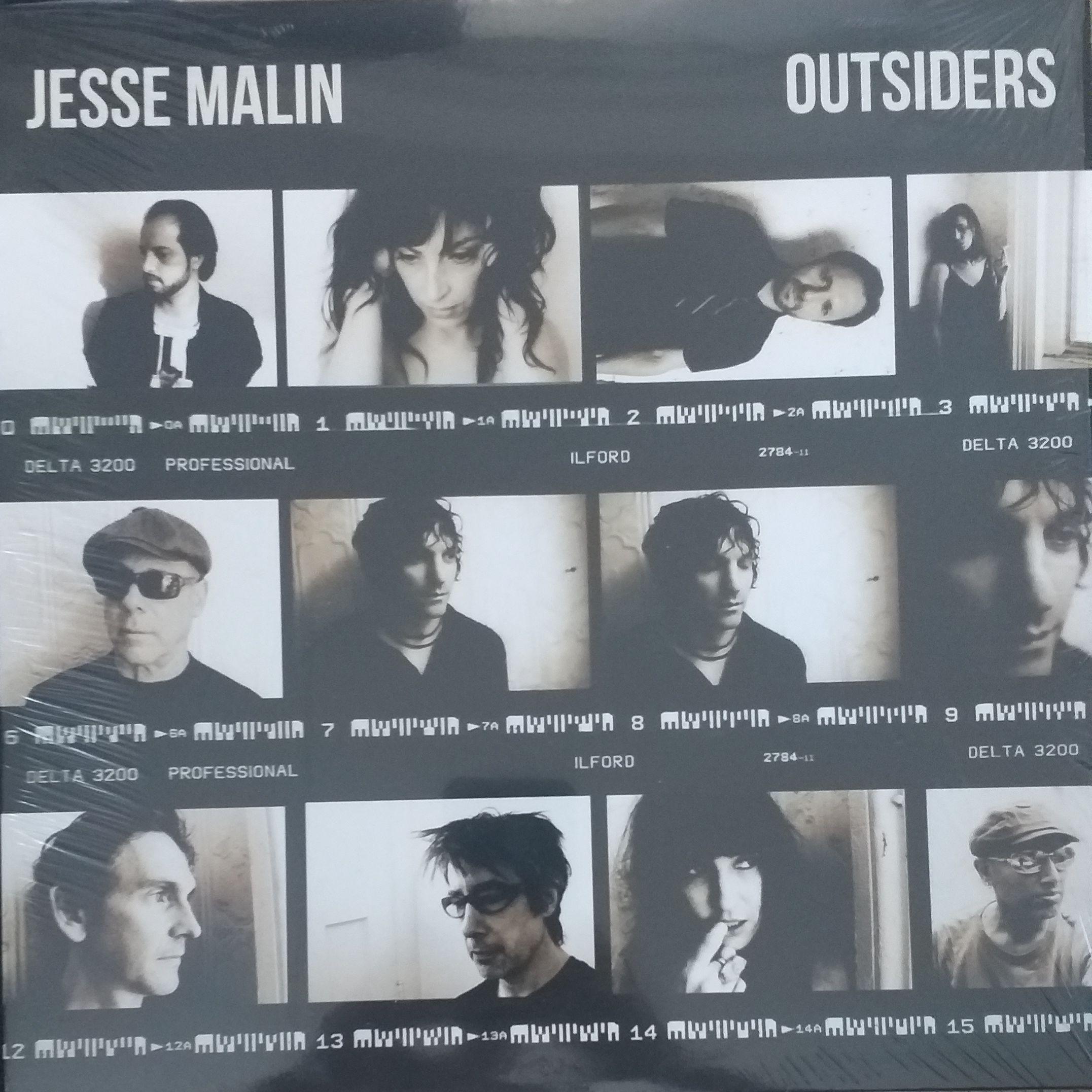 Jesse Malin Outsiders LP undefined