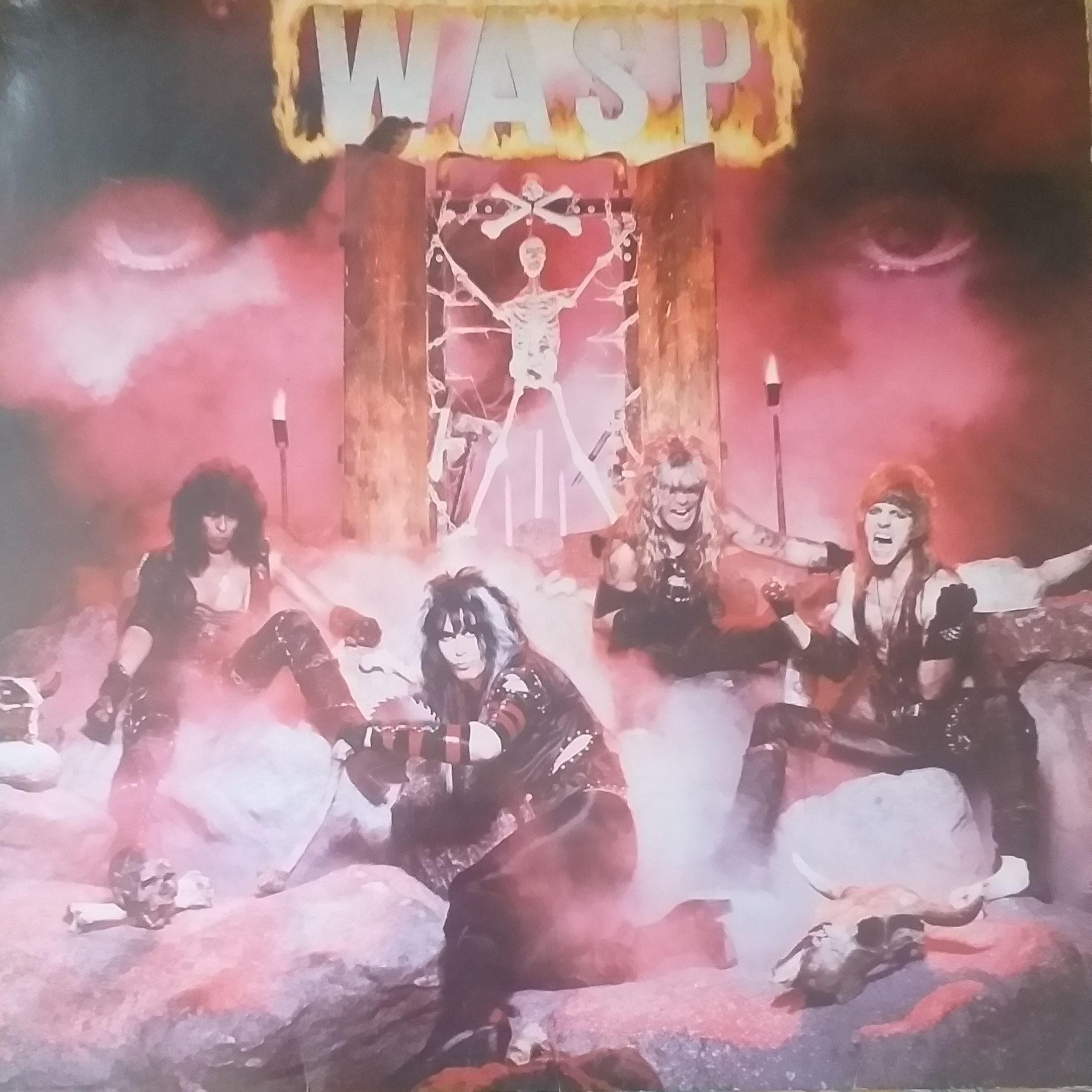 W.a.s.p I wanna be somebody LP undefined