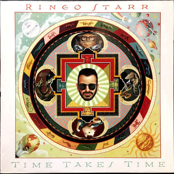 Ringo Starr Time Takes Time (coloured) LP 2020