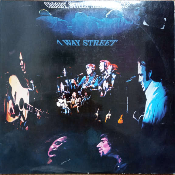 Crosby, Stills, Nash & Young 4 Way Street   LP 0