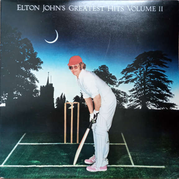 Elton John Elton John's Greatest Hits Volume II LP 0