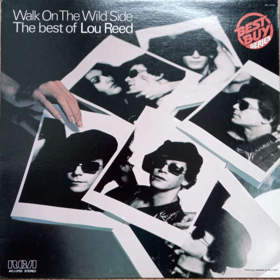 Lou Reed Walk On The Wild Side - The Best Of Lou Reed LP 0