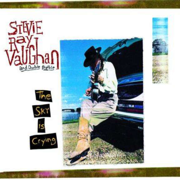 Stevie Ray Vaughan Sky is crying LP 2020