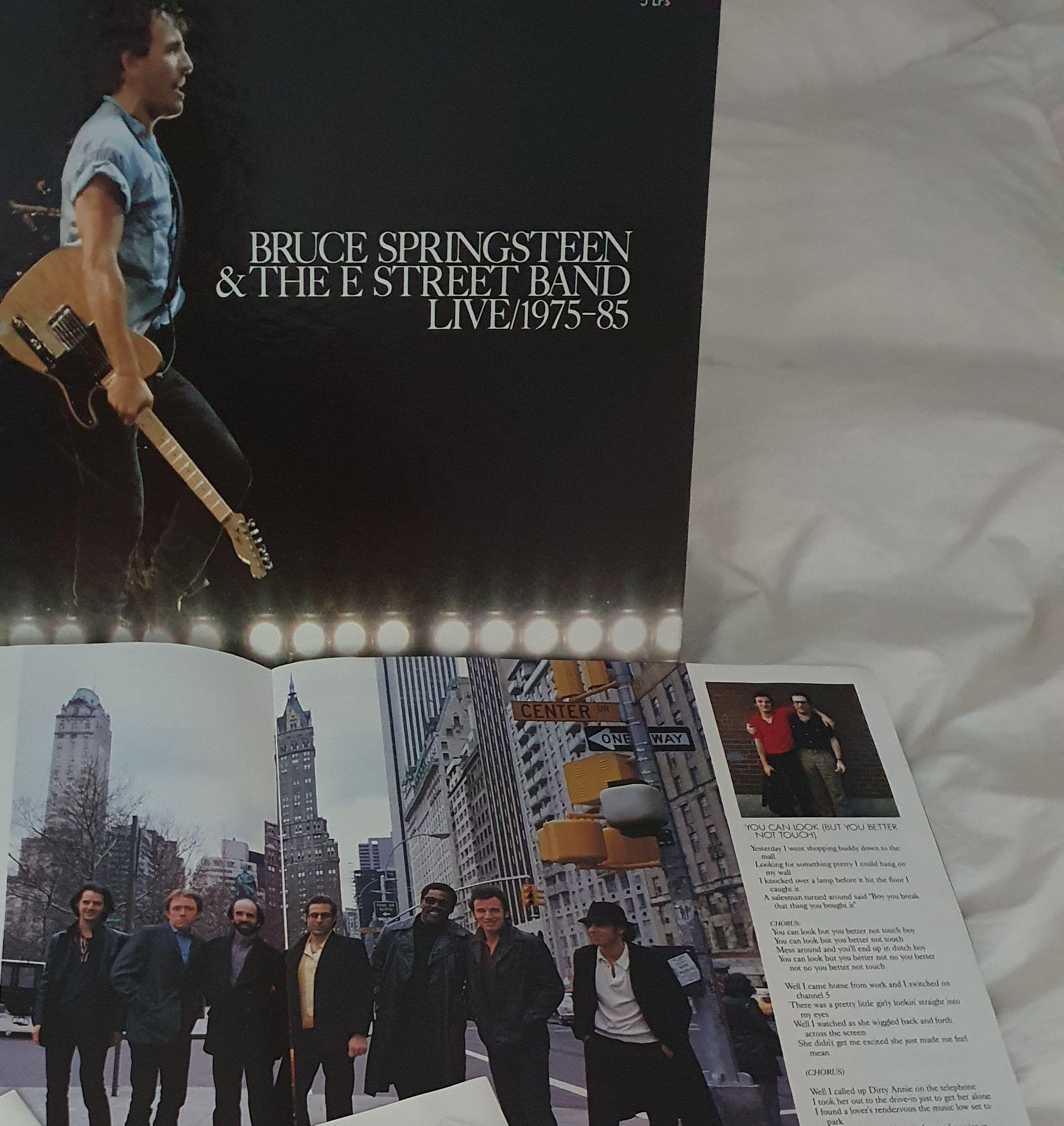 Bruce Springsteen Live 1975-1985 LP undefined