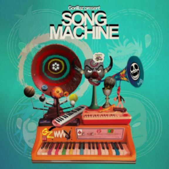 Gorillaz Gorillaz Presents Song Machine, Season 1 (coloured) LP 2020
