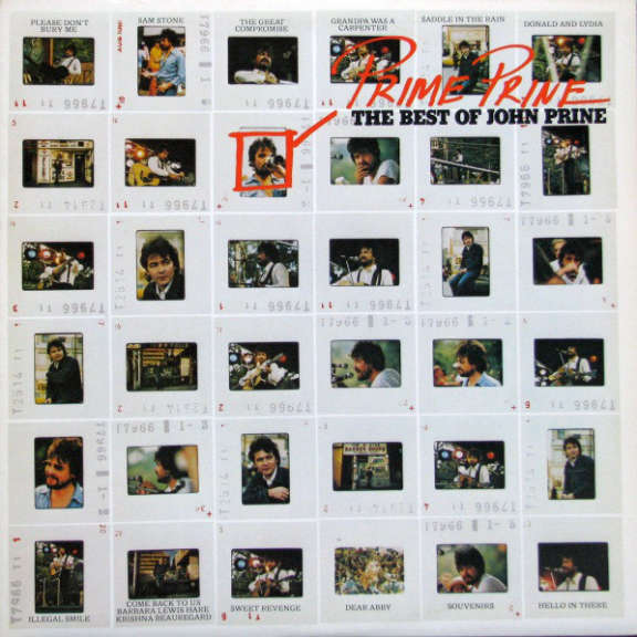John Prine Prime Prine: The Best Of John Prine LP 2020