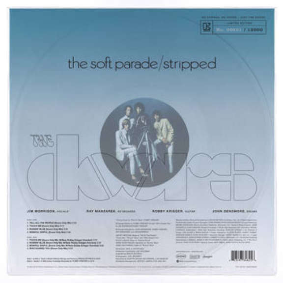 The Doors The Soft Parade: Stripped Doors Only Mixes (RSD 2020, Osa 2) LP 0