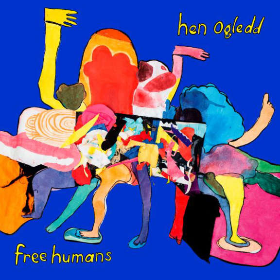 Hen Ogledd Free humans (black) LP 2020