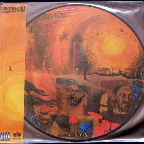 Brother Ali Shadows on the Sun (Picture Disc) LP 2013