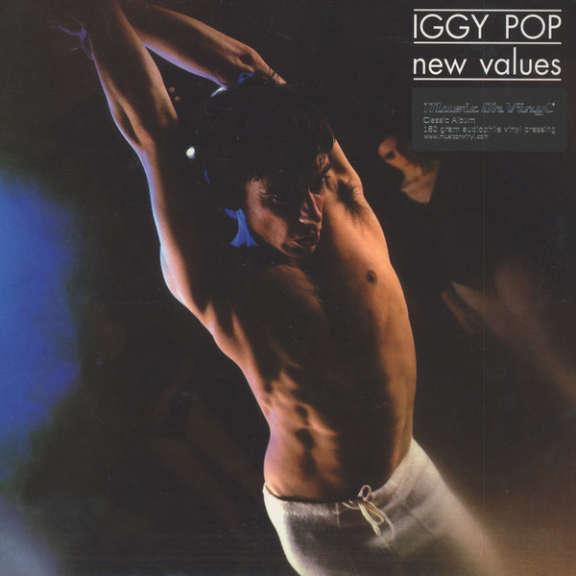Iggy Pop New Values LP 2016