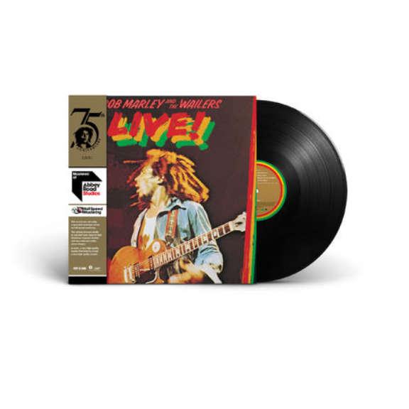 Bob Marley & The Wailers Live! LP 2020