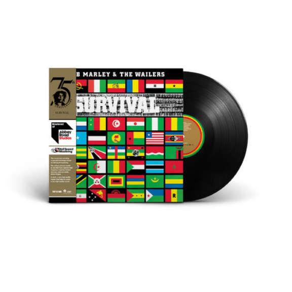 Bob Marley & The Wailers Survival LP 2020