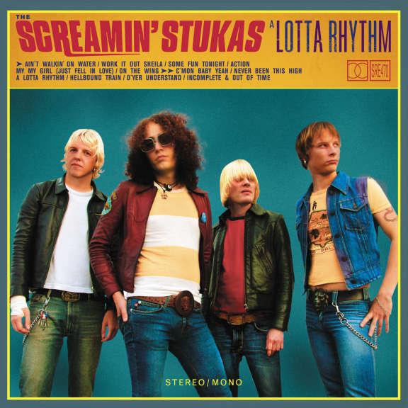 Tehosekoitin Screamin' Stukas: A Lotta Rhythm LP 2021