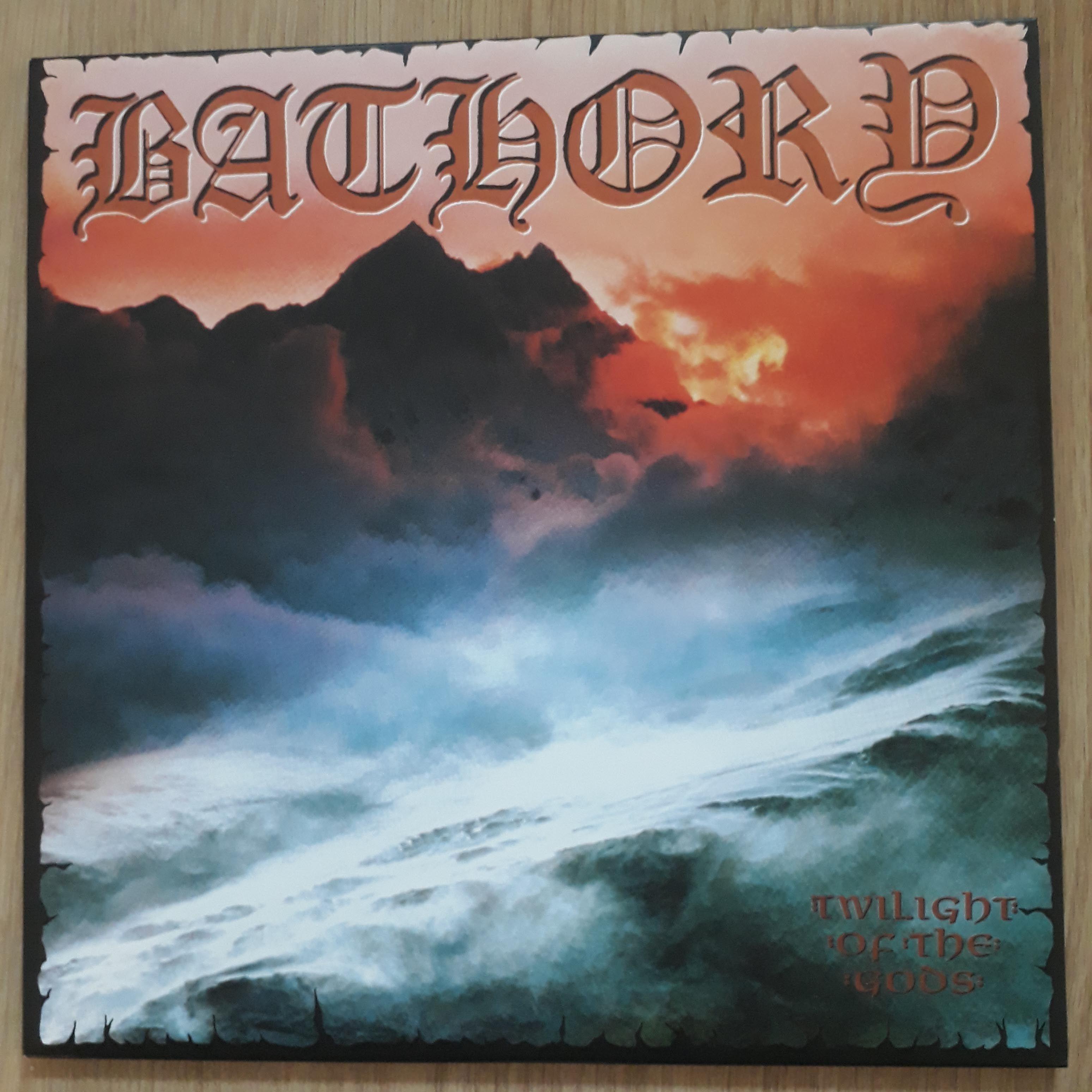 Bathory Twilight of the gods LP undefined