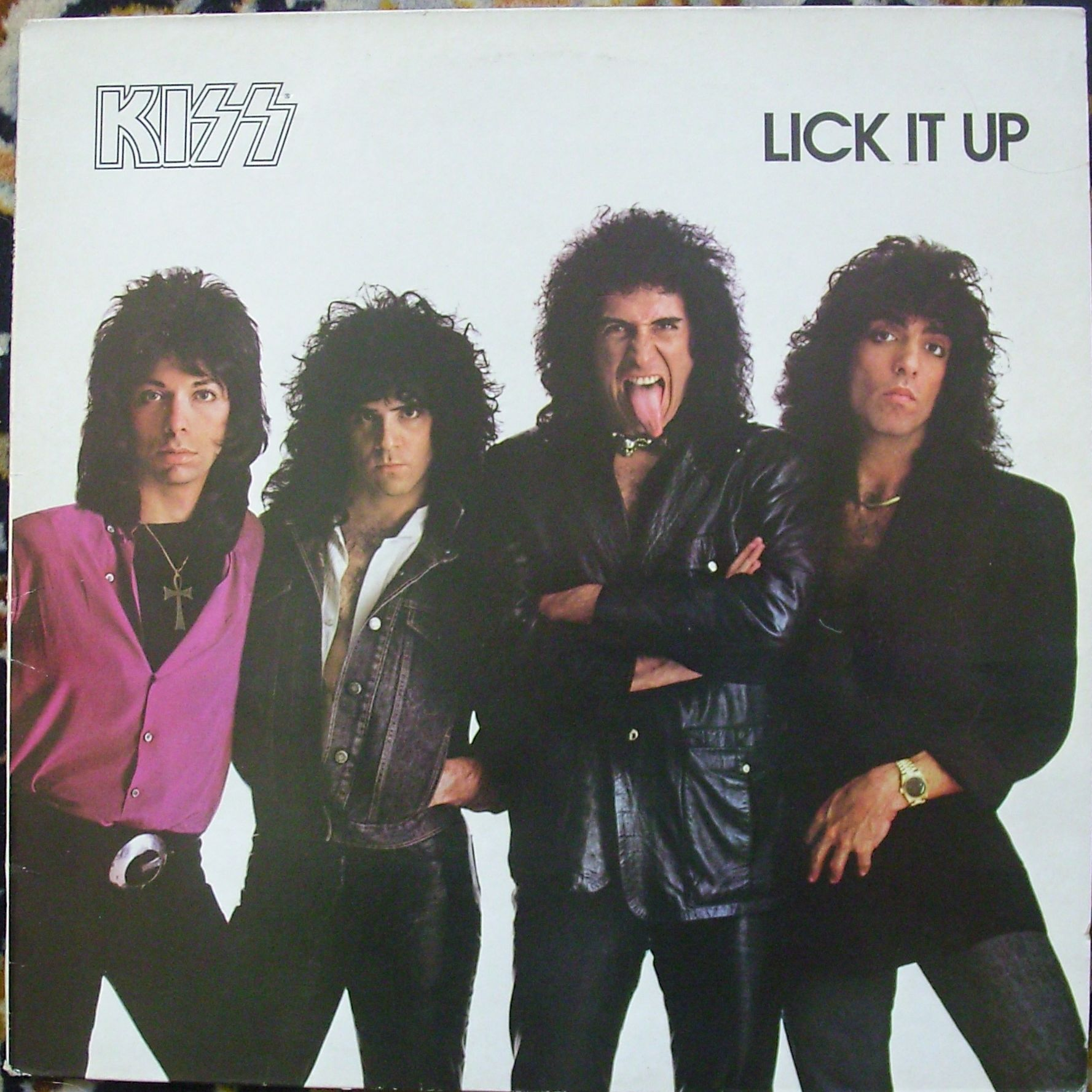 Kiss Lick It Up LP undefined