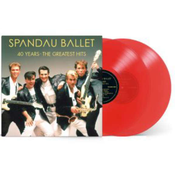 Spandau Ballet 40 Years – The Greatest Hits (coloured) LP 2020