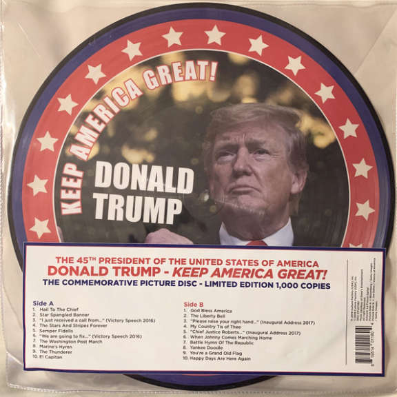 Donald Trump Keep America Great!  LP 2020