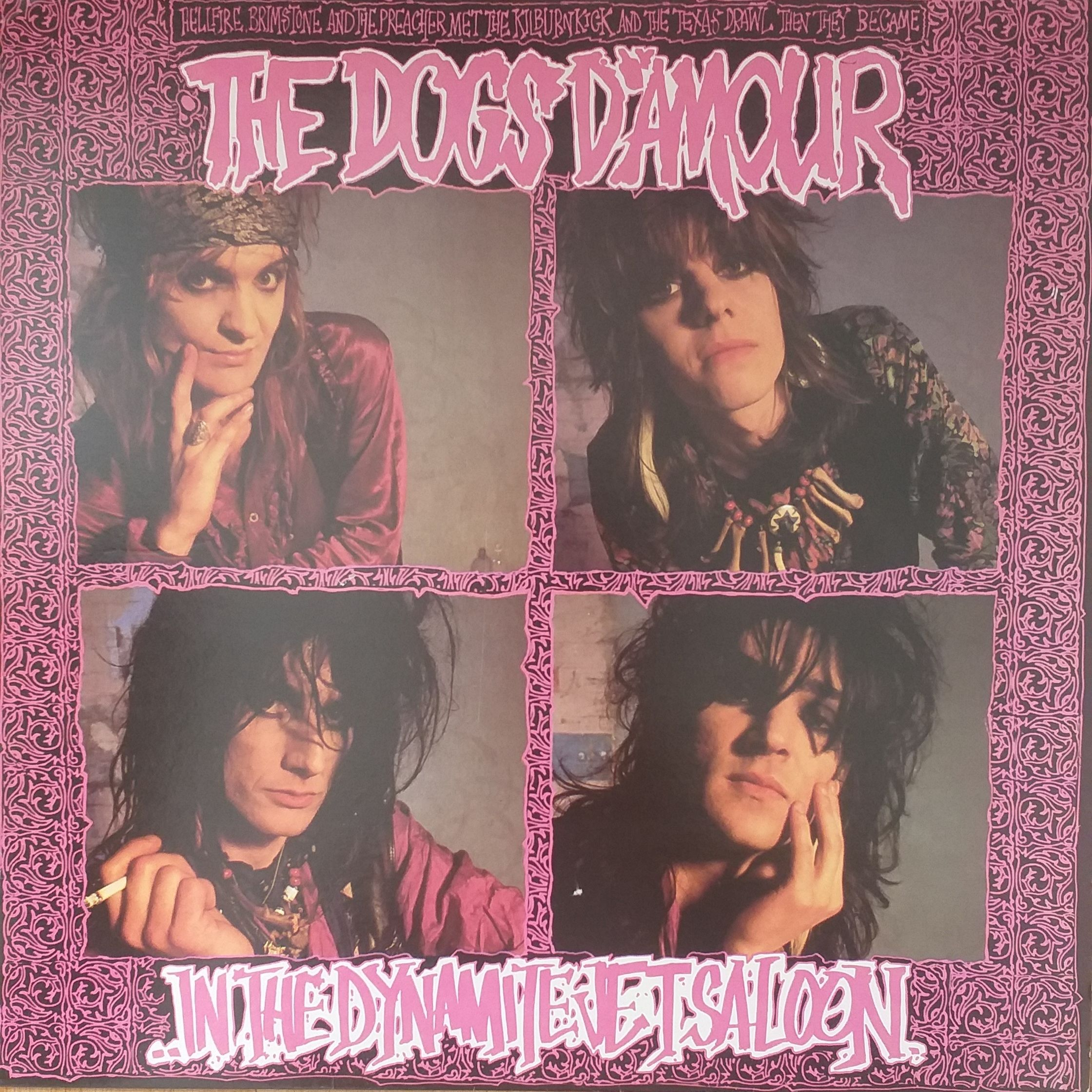 The Dogs d' Amour ..in the dynamite jet saloon LP undefined