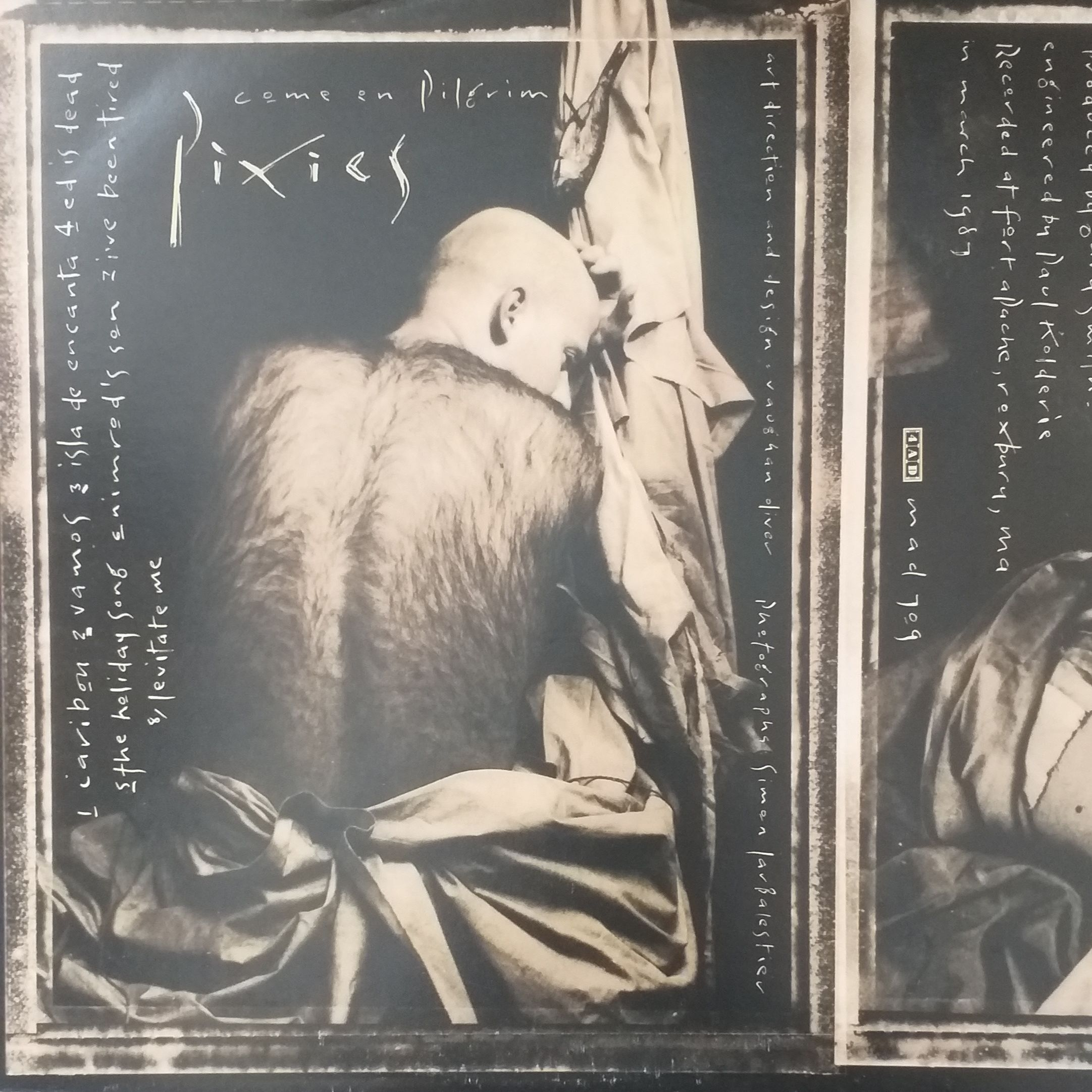 Pixies Come on pilgrim LP undefined
