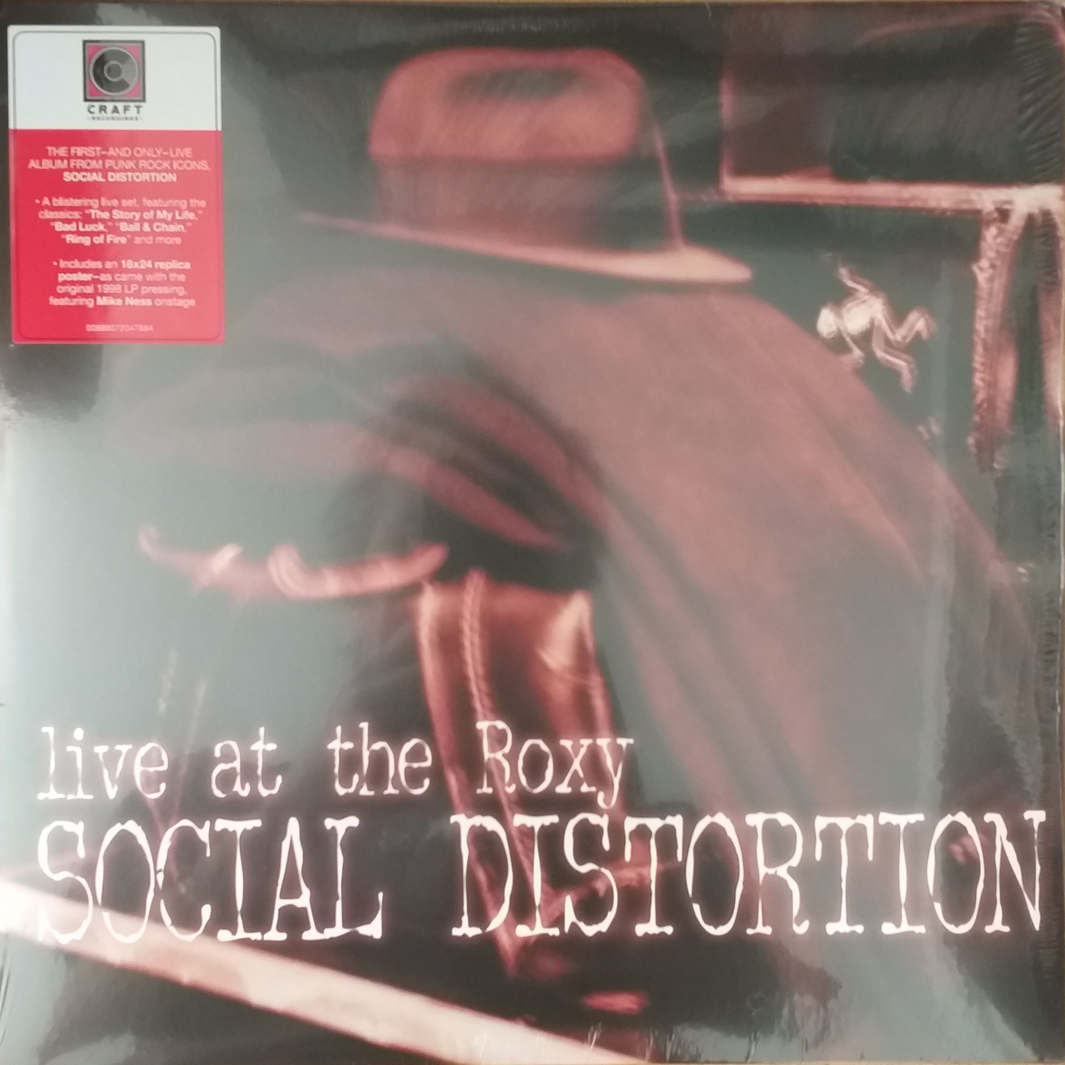 Social distortion  Live at the roxy LP undefined